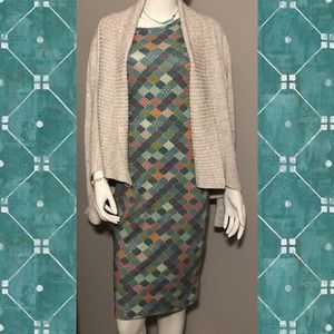 NWT Small LulaRoe Multi-Color Soft Julia Dress.